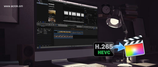 H.265 and FCP X - Convert H.265 to FCP X ProRes codec on Mac