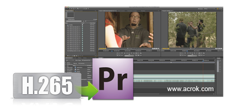 Import 4K H.265 MOV from Fujifilm GFX100 to Premiere Pro CC