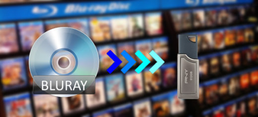 Transfer and copy Blu-ray movies to USB Flash Drive
